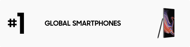 #1 Global Smartphones Company